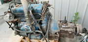 Detroit 453 4-53 2 Stroke On Road Diesel Engine With 4 Speed Transmission Core
