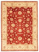 Hand-knotted Carpet 9and0391 X 11and03910 Traditional Vintage Wool Rug