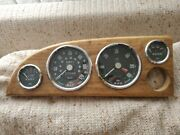 Lot Of Vintage Jaeger Gages Gauges Speedo Tach Fuel Temp British Untested As-is