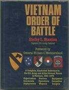 Vietnam Order Of Battle By Stanton, Shelby L Hardcover