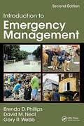 Introduction To Emergency Management By Phillips Brenda|neal David M.|webb…