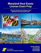 Maryland Real Estate License Exam Prep All-in-one Review And Testing To Pass…