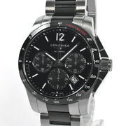 Longines Conquest Automatic L2.744.4.56.7 Chronograph Date Menand039s Watch Wl34919