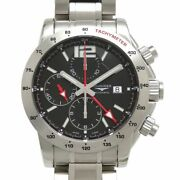 Longines Admiral Automatic L3.670.4.56.6 Chronograph Date Menand039s Watch Wl34931