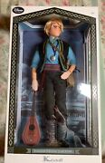 """Disney Store Limited Edition Frozen Kristoff 17"""" Doll Le 3500"""