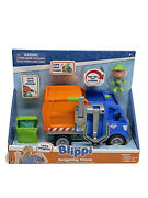 Blippi Talking Recycling Truck - Garbage Recycle Vehicle - Letand039s Recycle Sounds