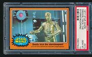 1977 Star Wars And039droids Trick The Stormtroopersand039 274 Psa 10