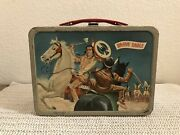 Brave Eagle Metal Lunch Box 1957 American Thermos Bottle Co.