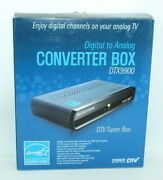 Dtv Tuner Converter Box Dtx9900 To Enjoy Digital Channels On Analog Tv And Antenna