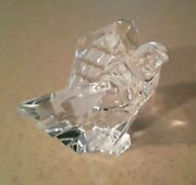 Steuben 8304 Crystal Glass American Eagle Figurine Paperwight