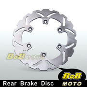 Brake Disc Rotor 1pc Rear For Ducati 750 Ss Supersport 91-02 01 00 99 98 97 96