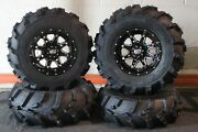 Defender Hd10 25 Mud 589 Atv Tire And Sti Hd4 Wheel Kit Made In Usa Can1ca