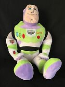 Disney Buzz Lightyear Plush Doll Pixar Toy Story Soft Action 23 Inches Figure S