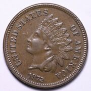 1872 Indian Head Cent Penny Choice Unc Free Shipping E684 Umnm