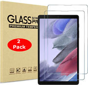 2x Tempered Glass Screen Protector For Samsung Galaxy Tab A7 Lite 8.7t220 2021