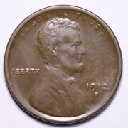 1912-s Lincoln Wheat Cent Penny Choice Au+ Free Shipping E732 Xpe