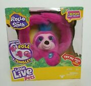 Rollo The Sloth - Little Live Pets - Interactive Plush Toy - New