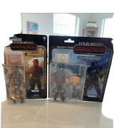 Star Wars Black Series Credit Collection Mandalorian Lot Of 2 Carded Figures New