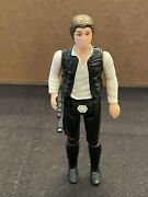 Star Wars Vintage 1977 Han Solo Small Head Original Kenner First 12 No Repro