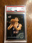 2002 Topps Chrome Yao Ming Chinese Version Rookie Card 146 Psa 9