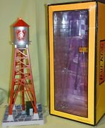 Mth 30-9060 Pennsylvania Prr 193 Industrial Water Tower W/beacon Wks W/ Lionel
