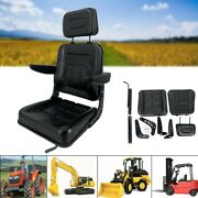 Universal Lawn Mower Seat Tractor Mower Seat Waterproof Pu For Tractor Forklift