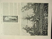 1898 Print Tom Hayward Cricket H.m.s Lion And Her Cubs