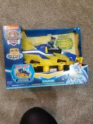 Paw Patrol Mighty Pups Charged Up Chase Transforming Deluxe Car Vehicle Playset