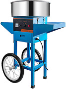 Vbenlem Cotton Candy Machine With Cart Commercial Floss Maker Perfect For Family