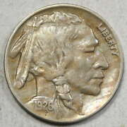 1926-d Buffalo Nickel Extremely Fine Well Struck Scarce 0801-02