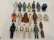 Kenner Star Wars Vintage Loose Lot With 78 Action Figures Plus Vehicles 70s-80s