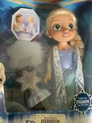 Open Box Disney Frozen Northern Lights Elsa Doll W/colorful Lights And Music
