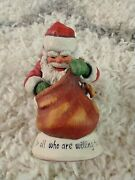 Simpich Santa Collection 7 Figurines Included Signed