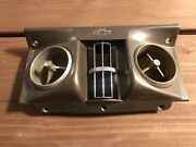 1964 1965 1966 Chevy C10 Truck Factory A/c Ac Air Conditioning Dash Bezel Vents