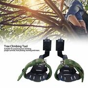 Non-slip Tree Climbing Spikes Climbing Trees Tool For Hunting Observation Pick
