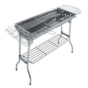 Stainless Steel Folding Barbecue Grill Bbq Stove Charcoal Grill Home