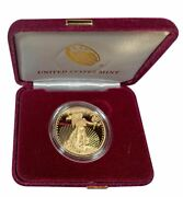 2020 Us Mint Proof 50 American Gold Eagle 1 Oz With Coa And Ogp