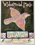 Widespread Panic Poster 1999 Til The Medicine Takes Autographed By All Of The...