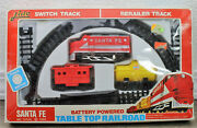 Vintage Dime Store Lido Toy Train Battery Powered Table Top Railroad Nos