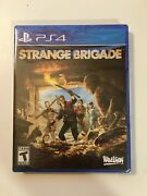 Strange Brigade Sony Playstation 4 Ps4, 2018 Sold Out - Brand New Sealed
