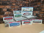 Walthers Trainline Deluxe Ho Train Set Ready-to-run Freight Cars Lot Of 8