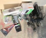 Xbox 360 S Slim 250gb System Kinect Bundle Halo Mass Effect Collectorandrsquos Editions