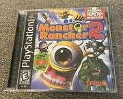 Monster Rancher 2 Playstation Tecmo Sealed Not Shrinkwrapped
