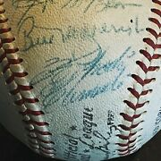 Roberto Clemente And 1966 Pittsburgh Pirates Team Signed Baseball 27 Autos Jsa
