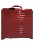 Rimowa Salsa Deluxe Suitcases 830.4 Red Rw1125