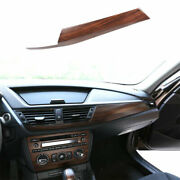 Fit For Bmw X1 E84 2010-2015 Pine Wood Grain Middle Console Dashboard Panel Trim