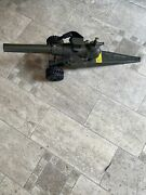"""Cast Iron/metal Big Bang Toy Cannon 17"""" 10 Cc Charger"""