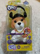 Little Live Omg Pets Have Talent Dj Pup Soft And Squishy Sings To Own Music -new