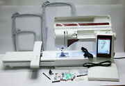 Husqvarna Viking Designer Ruby Deluxe Sewing/embroidery 33 Hrs Machine 177