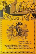 The Hess Collection Booklet Dime Novels Childrenand039s Series Books 1974